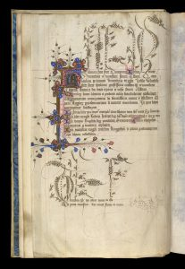 BL Royal 2 F VII f. 1v Colophon