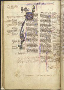 British Library Harley MS 3487, fol. 22v